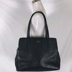 Kate Spade Street Brennan Black Leather Handbag